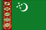 TURKMENISTAN(TKM) national flag